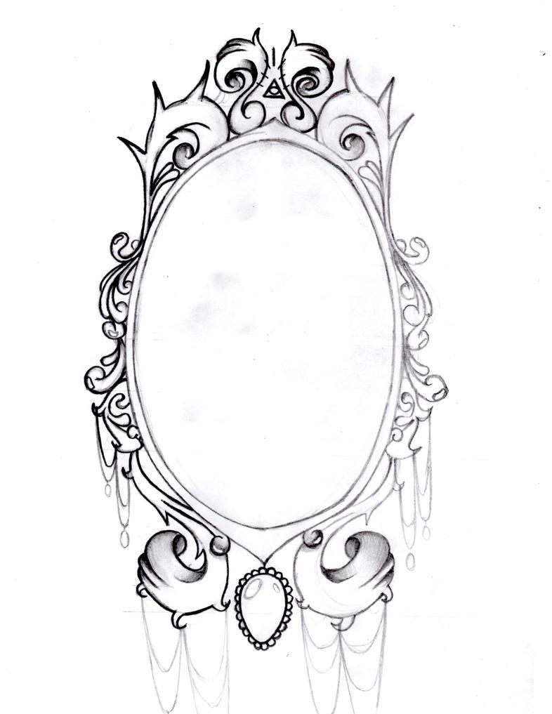 Vintage Mirror Tattoo Tumblr