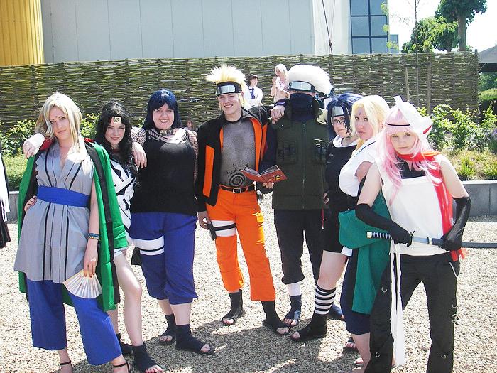 Naruto Cosplay group