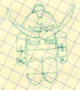 SD Turn A Gundam Drawing