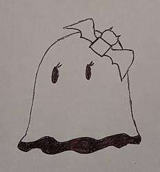 Inktober 2018 - mgoctober - 1 - Ghost