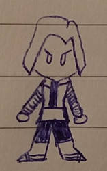 Inktober 2018 - 21 - Android 18