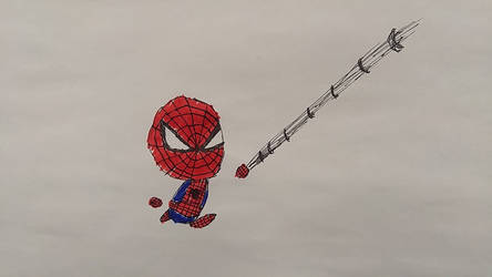 17) Spidey in Colour!