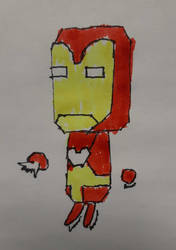 18) Iron Man in Colour!