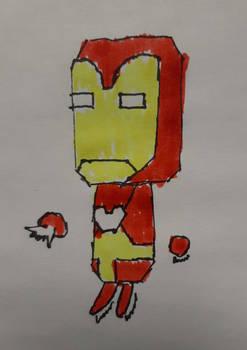 18) Iron Man in Colour!