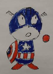 19) Captain America in Colour!