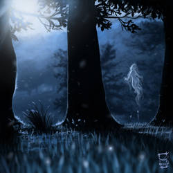 blue little spirit by ameur92makhloufi