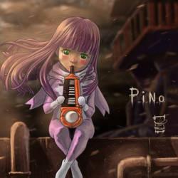 Pino from ergo proxy by ameur92makhloufi