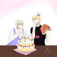 We baked you a cake by Otakuso