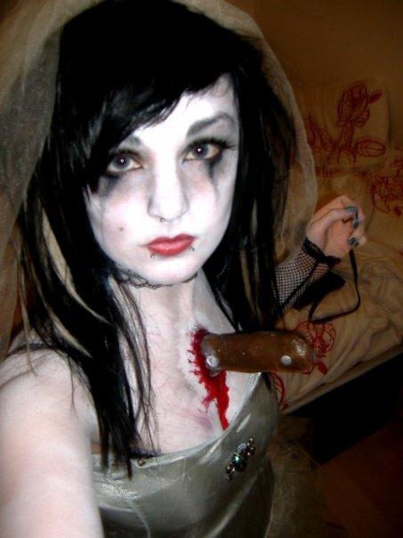 dead bride halloween by painteddollygirl