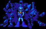 MegaMan 5 Intro in HD