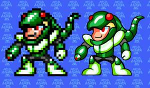 Sega Genesis SnakeMan