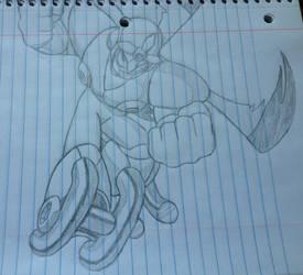Gyroman drawing