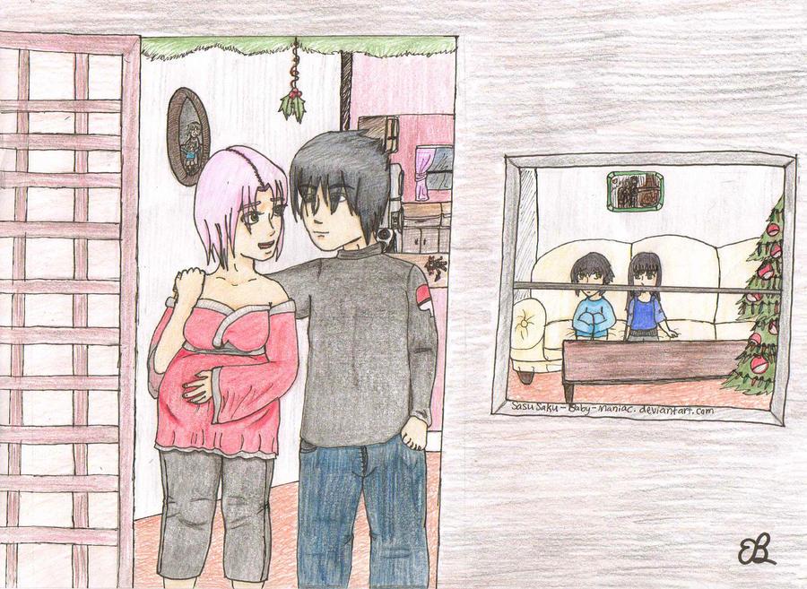 Sasusaku Pregnant Sasusaku christmas '10 request