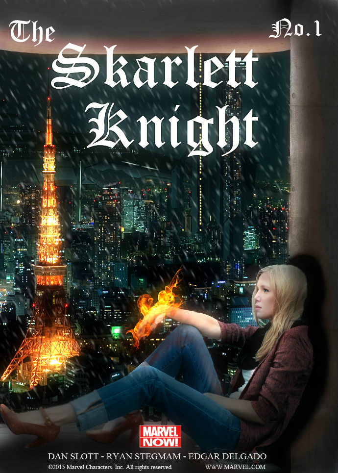 The Skarlett Knight Nr.1 by sylgrio
