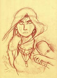 Princess Mononoke sanguine
