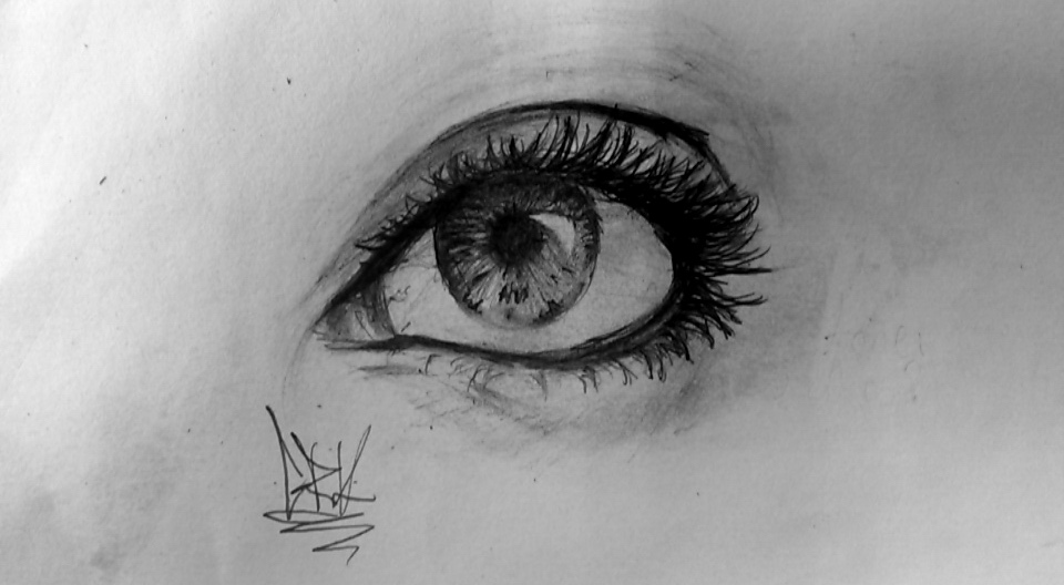 I can't stop drawing eyes by MrGuigle