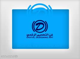 Digital Designing Art Logo by bellegend