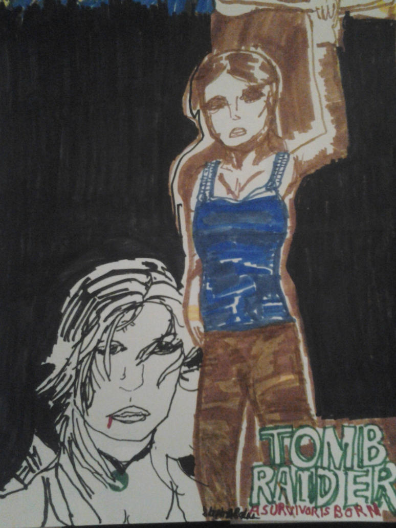 Tomb Raider Fan Art by BunnysteeleStephanie
