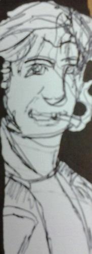 Denis Leary Fan Art by BunnysteeleStephanie