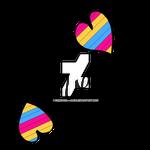 Pansexual Pride LGBTQ Love
