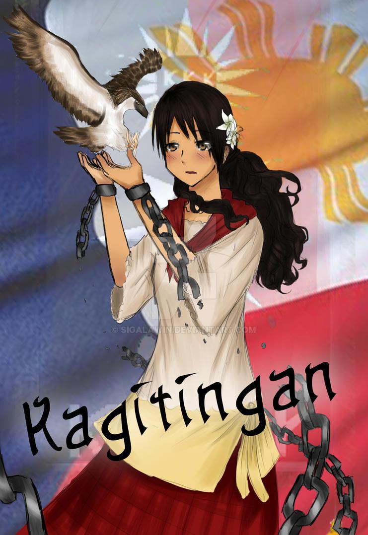 Kagitingan - APH Doujinshi Cover Page by sigalawin