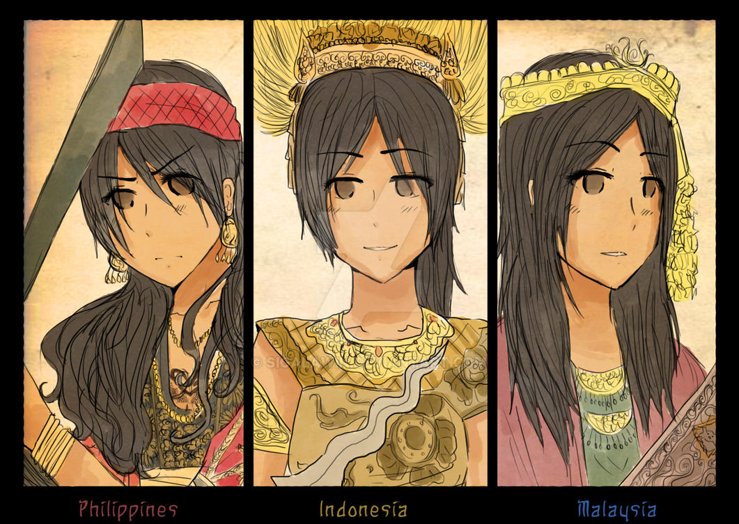 APH - The Royals of the East by sigalawin