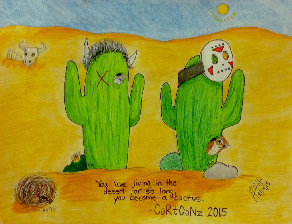 CaRtOoNz and H2O Delirious: Cactus Form by CrypticShyGuy ... H20 Delirious Drawings