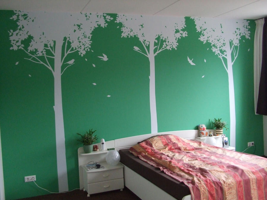 my bedroom wall by green envy designs on deviantart bedroom design green walls home design