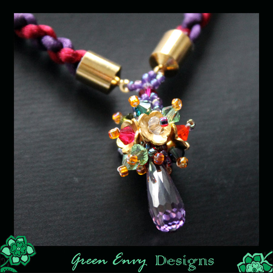 Oriel Necklace Close Up By Green Envy Designs On Deviantart