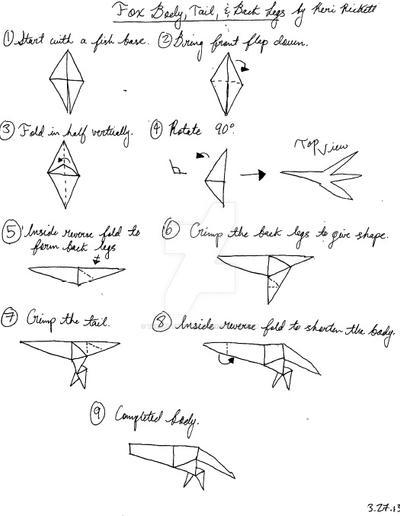 Origami Fox Diagram Find Wiring Diagram