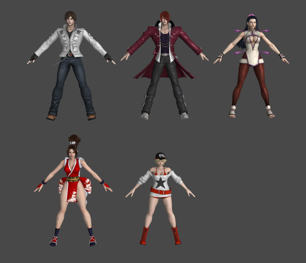 King Of Fighters 1 by roodedude