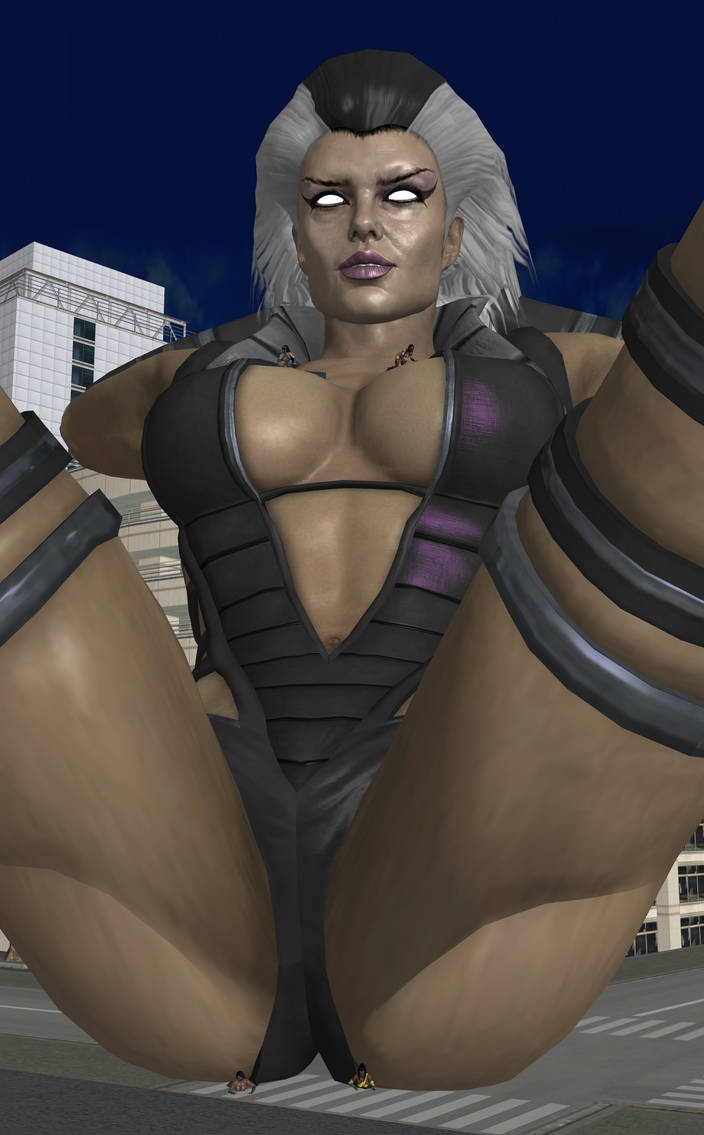 Sindel's Punishment by roodedude