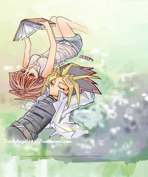 Yami and Anzu
