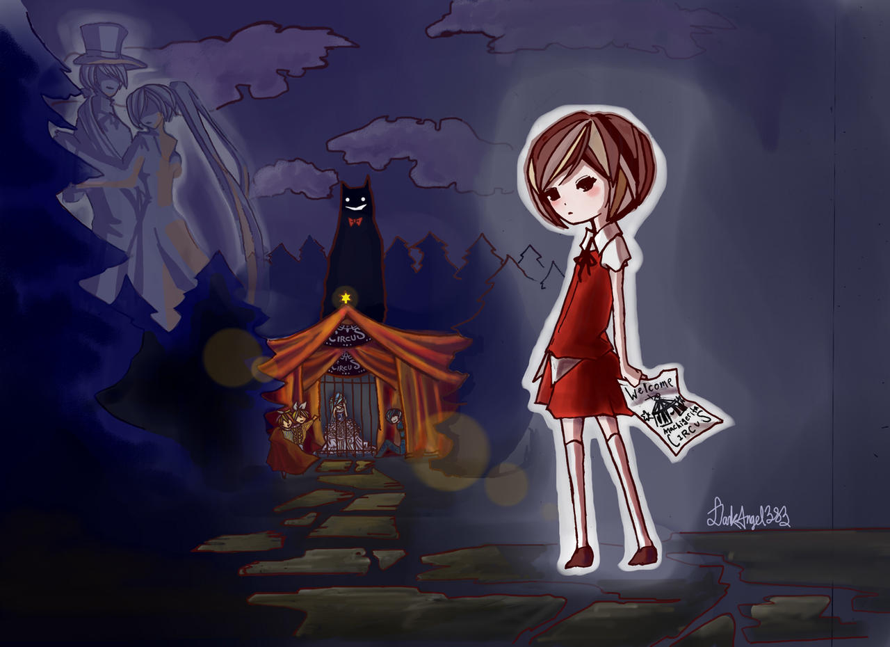 Dark Woods Circus by DarkAngeL383