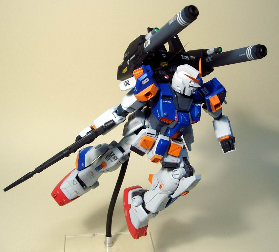 Gundam Mudrock by stormv