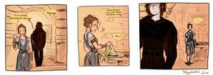 Ben Solo on the Falcon - Star Wars Episode IX