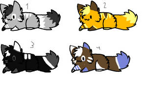 Adoptables ~:OPEN:~ by Fred50208