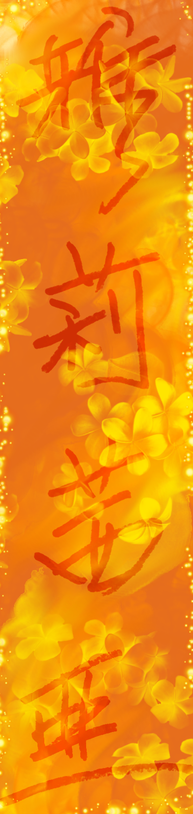 Chinese Calligraphy by digipukamon