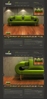 Concept - Web Layout