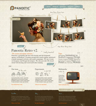 Retro - Web Layout by detrans