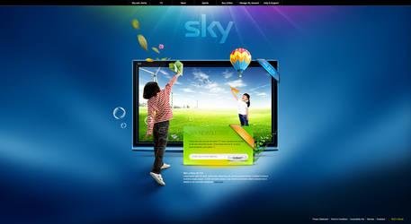 Sky - Web Layout