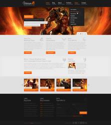 Warrior - WordPress Theme by detrans