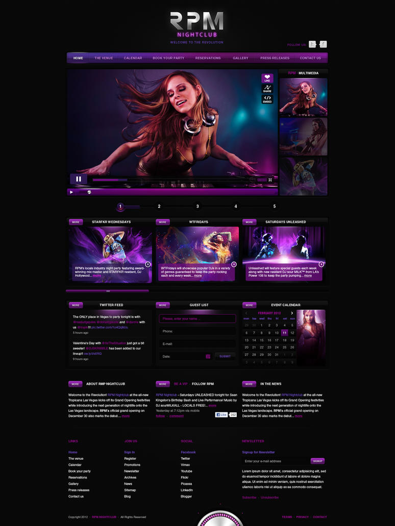 NC - Web Layout by detrans