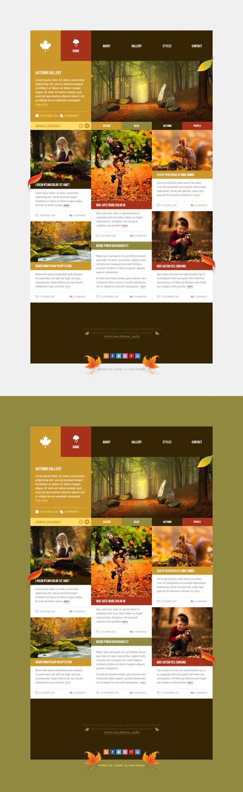 Autumn - WordPress Theme by detrans