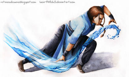 Katara Fanart | Realistic illustration by Lucia-95RduS