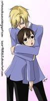 Haruhi y Tamaki | Fanart Janken6#
