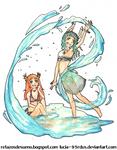 Draw Amelia or Izka Contest