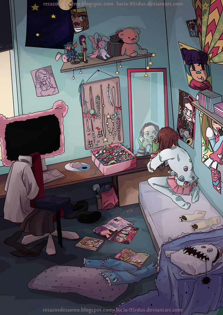 Character Design  DECORA GIRL! SCENERY (3/4) OC