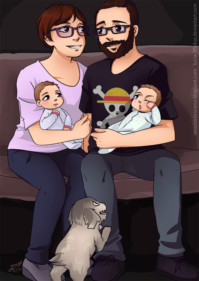 Family Photograph | Commission by Lucia-95RduS