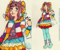More Decora Girl   @Tokyofashion